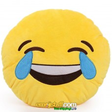 Laughing with Tears Emoji Pillow