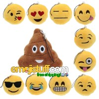 Emoji Mini Pillow / Keychain / Accessory / Ornament