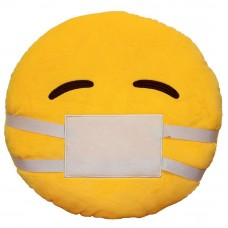 Doctor Mask / Sick / Get Well Soon Emoji Pillow