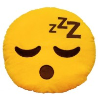 Sleeping Face / zZz / Tired Face Emoji Pillow